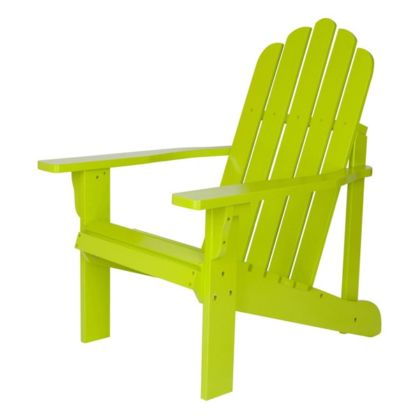 Shine Marina Lime Green Adirondack Chair SHN-4618LG