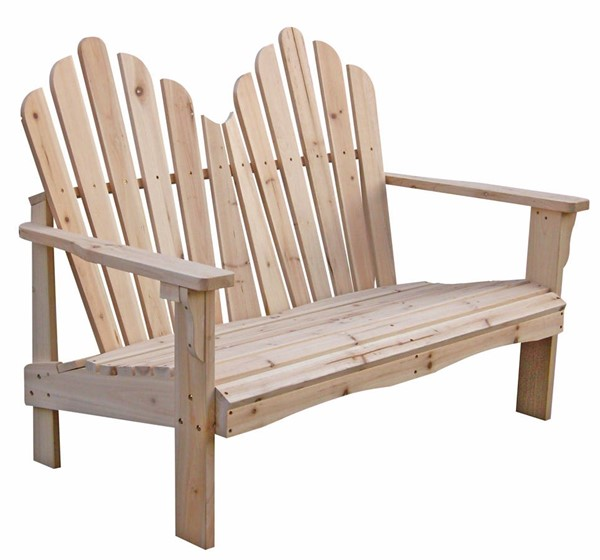 Westport Natural Cedarwood 43.50 Inch Outdoor Loveseat SHN-4681N