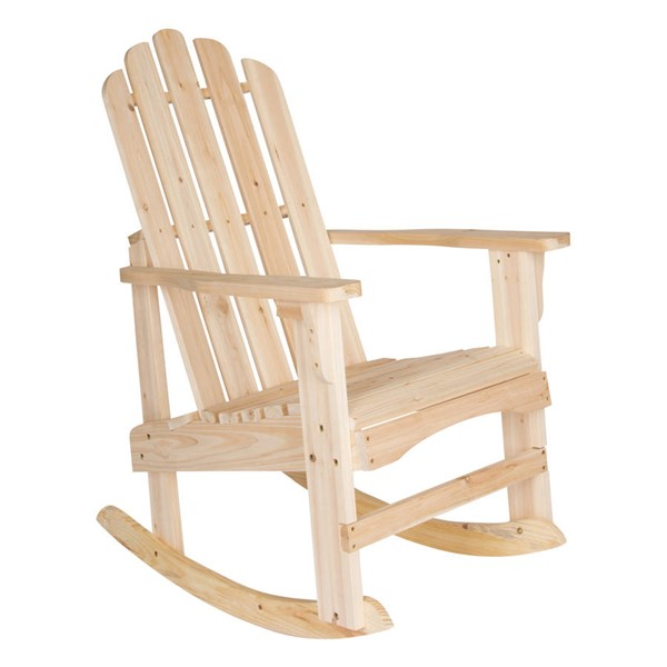 Shine Marina Natural Cedarwood Porch Rocker SHN-4698N