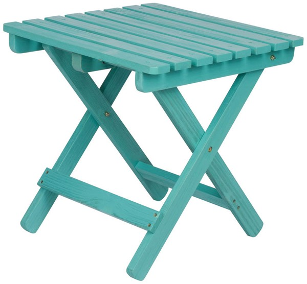 Shine Cedar Square Folding End Tables SHN-5109-OUTDOOR-ET