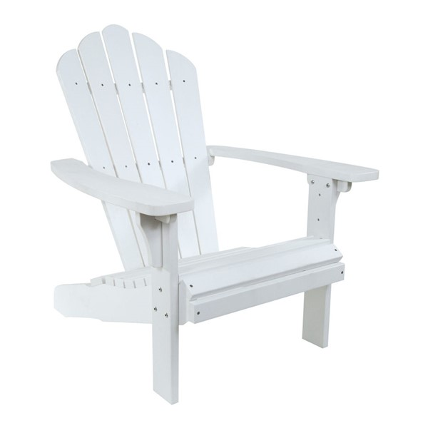 Shine West Palm White Adirondack Chair SHN-7615WT
