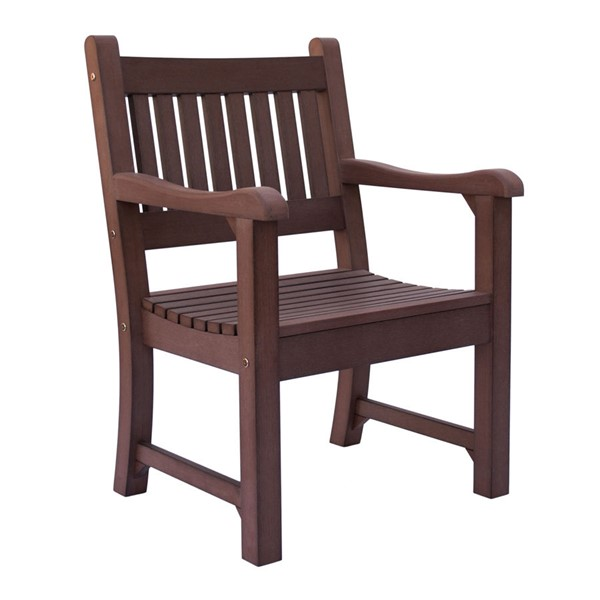 Shine Sunrise Chateau Brown Outdoor Dining Chair SHN-7633CB