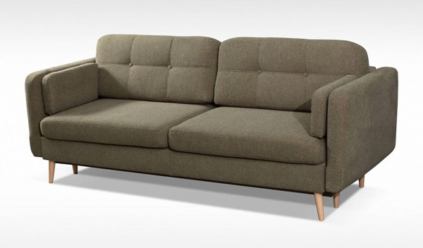 Skyler Designs Manhattan Gray Queen Storage Sofa Bed SKY-MANHATTAN-OLIVE-SOFA-BED