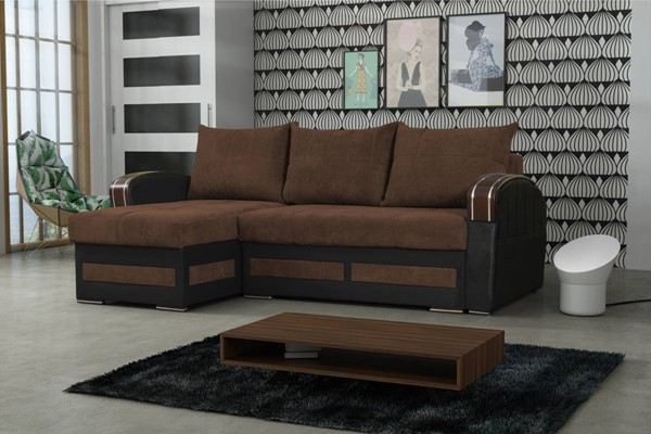 Skyler Designs Tommy Brown Sectional SKY-TOMMY-BROWN-SECTIONAL