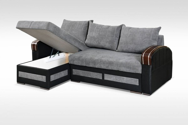 Skyler Designs Tommy Gray Sectional SKY-TOMMY-GRAY-SECTIONAL