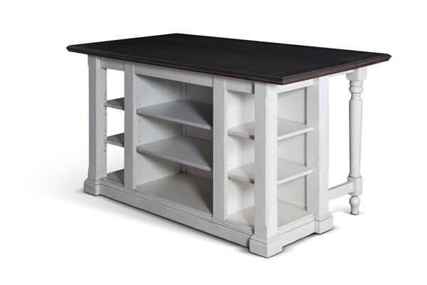 Bourbon County French Country Wood Solid Island Base 1016FC-B