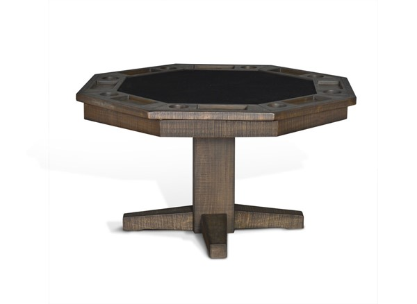 Sunny Designs Tobacco Leaf Game and Dining Table 1033TL