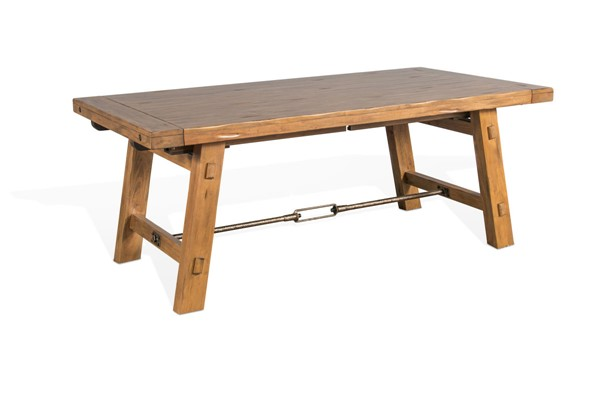 Sunny Designs Sierra Light Brown Extension Table 1380DL
