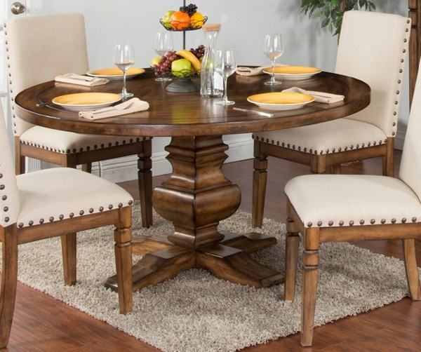 Cornerstone Burnished Mocha Wood Solid Table Top 1395BM-T