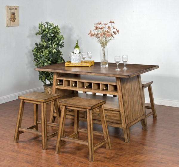 Cornerstone Burnished Mocha Wood Table Top 1398BM-T