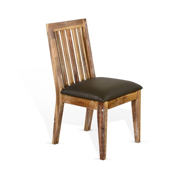 2 Sunny Designs Havana Light Brown Slat Back Chairs 1450RA