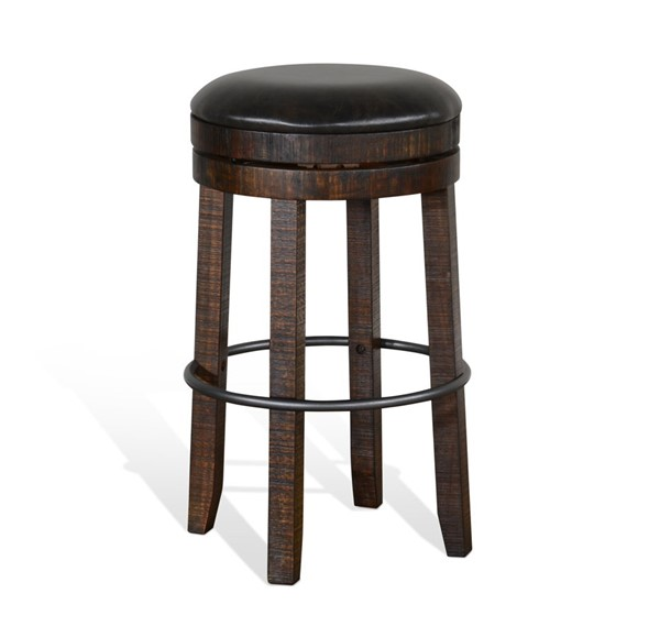 Sunny Designs Homestead Dark Brown Stool 1624TL2-30