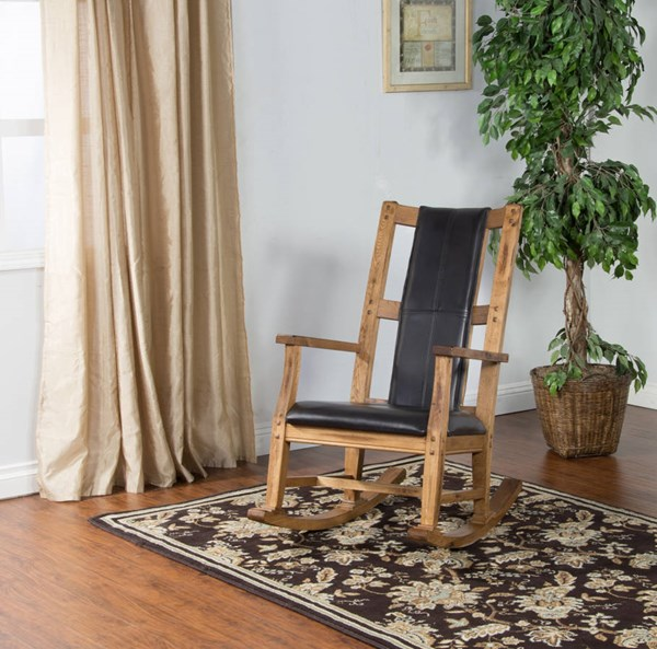 Sunny Designs Sedona Light Brown Rocker 1935RO2-2