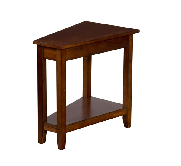 Sunny Designs Route 66 Medium Brown Chair Side Table 2226BC