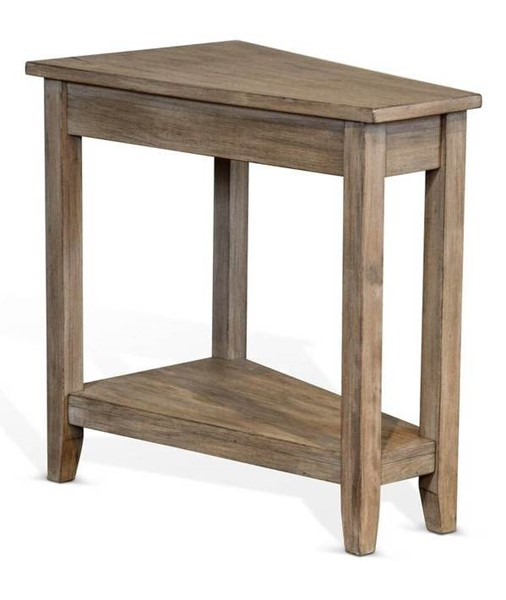 Sunny Designs Light Brown Chair Side Table 2226GW