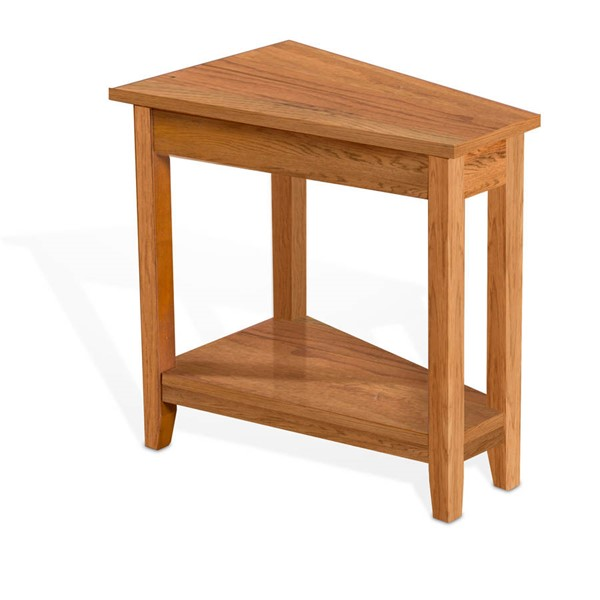 Sunny Designs Sedona Orange Brown Chair Side Table 2226RO2