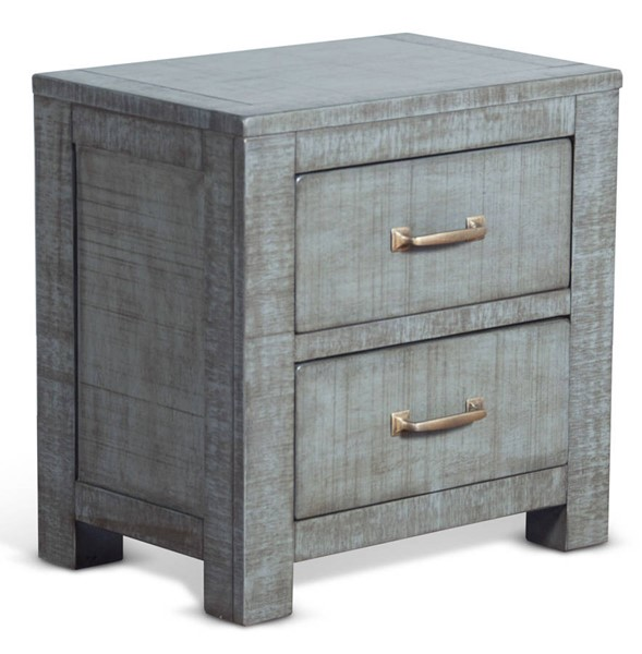 Sunny Designs Ranch House Light Blue Night Stand 2319LB-N