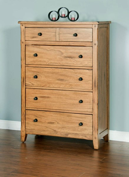 Sunny Designs Sedona Petite Light Brown Chest 2334RO-C