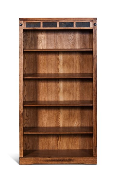 Sunny Designs Sedona Light Brown 5 Shelves Bookcase 2952RO2-60