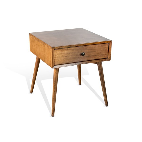 Sunny Designs American Modern Orange Brown End Table 3116CN-E