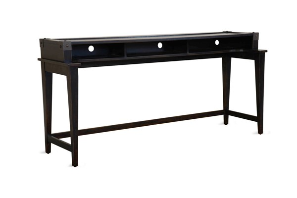 Sunny Designs Seal Beach Black Console Table 3124BW-CT