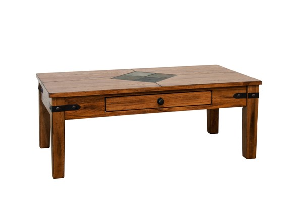 Sunny Designs Sedona Rustic Oak Coffee Table 3160RO-C