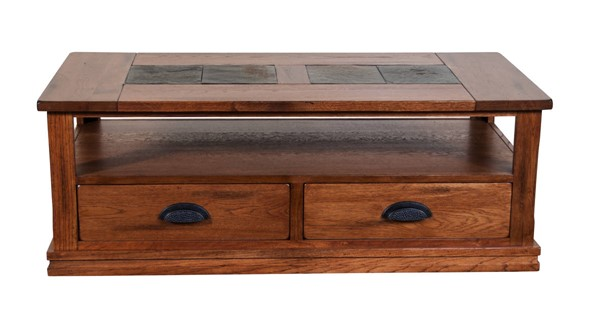 Sunny Designs Sedona Rustic Oak Rectangle Coffee Table 3163RO-C