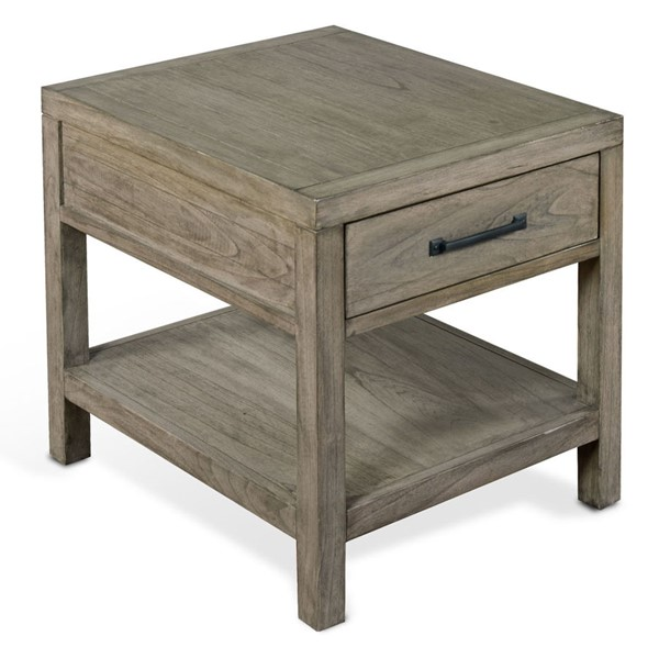 Sunny Designs Glasgow Medium Gray End Table 3271CG-E