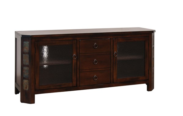 Sunny Designs Santa Fe Dark Brown 60 Inch TV Console 3416DC-60