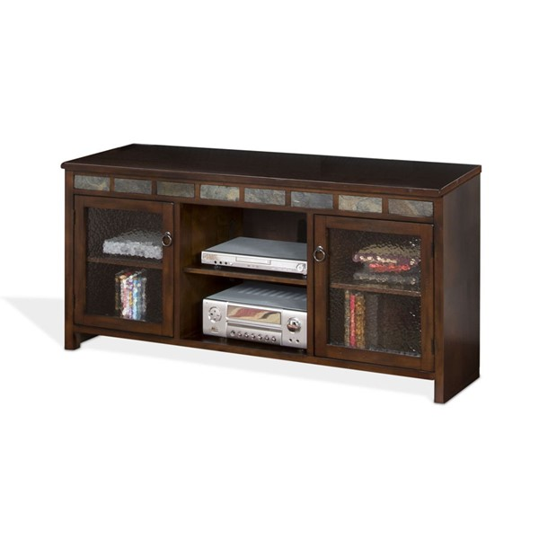 Sunny Designs Santa Fe Dark Brown TV Console Only 3464DC-60