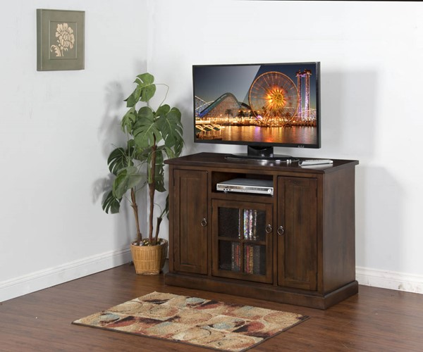 Sunny Designs Santa Fe Dark Brown 48 Inch TV Console 3474DC-48