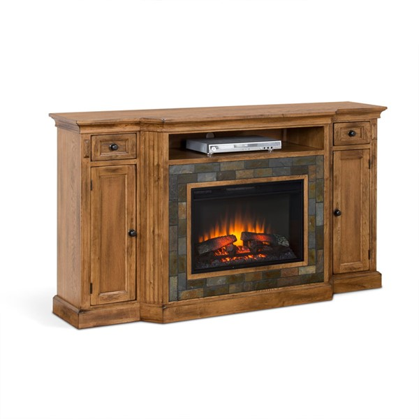 Sunny Designs Sedona Rustic Oak Console Only Without
