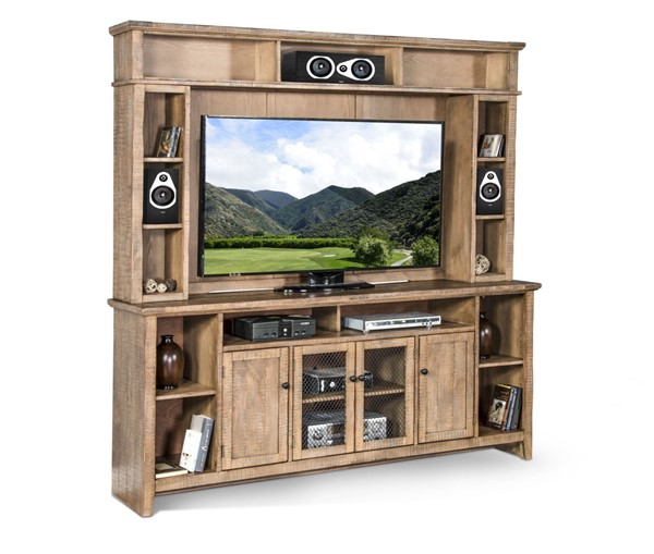 Sunny Designs Puebla Drift Wood Entertainment Wall 3559DW