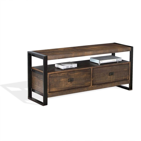 Sunny Designs Homestead Tobacco Leaf 54 Inch TV Console 3568TL-54