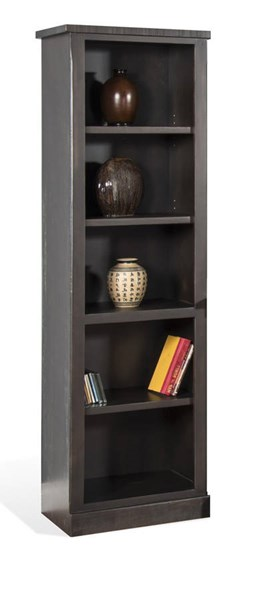 Sunny Designs Dark Brown Charred Oak Pier 3577CO2-P