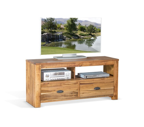 Sunny Designs Coleton Antique Charcoal 54 Inch TV Console 3610AN-54