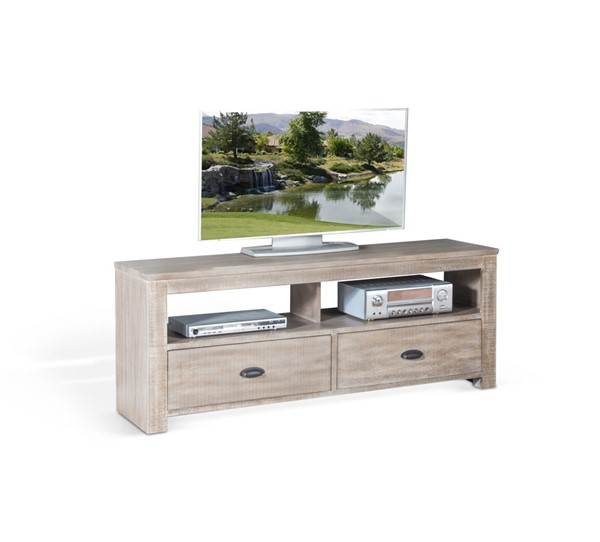 Sunny Designs Coleton Mountain Ash 64 Inch TV Console 3610MA-64