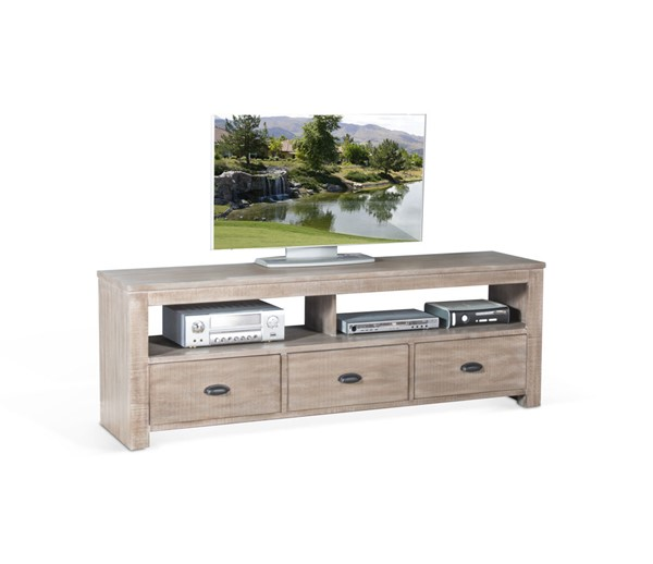 Sunny Designs Coleton Mountain Ash 74 Inch TV Console 3610MA-74