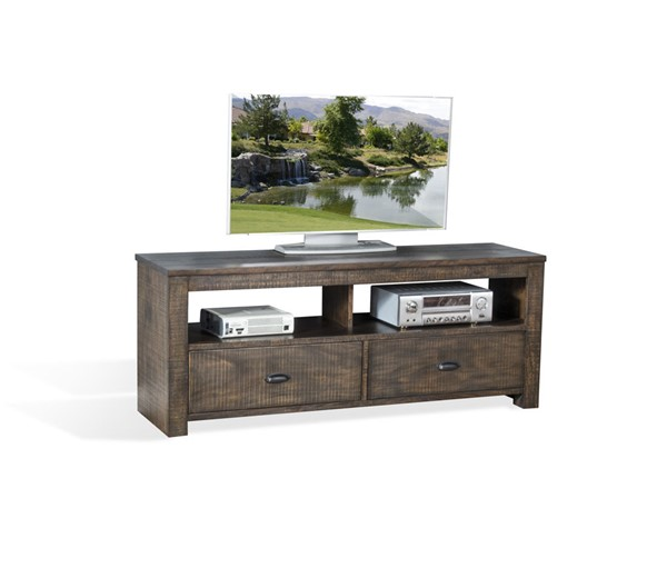 Sunny Designs Coleton Dark Brown 64 Inch TV Console 3610TL-64