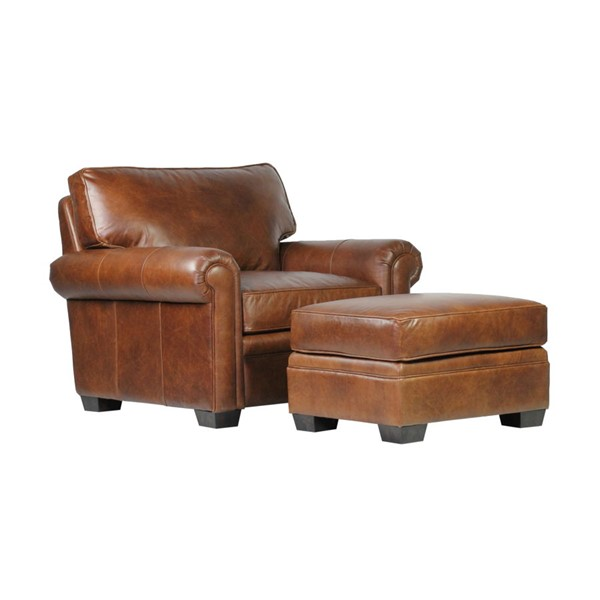Spectra Home Donovan Gunner Coffee Chair and Ottoman Set SPH-172403-04-CHO-S1