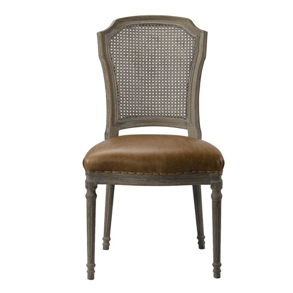 Spectra Home Chelsea Chaps Saddle Side Chair SPH-Chelsea-Side-Chair-CS