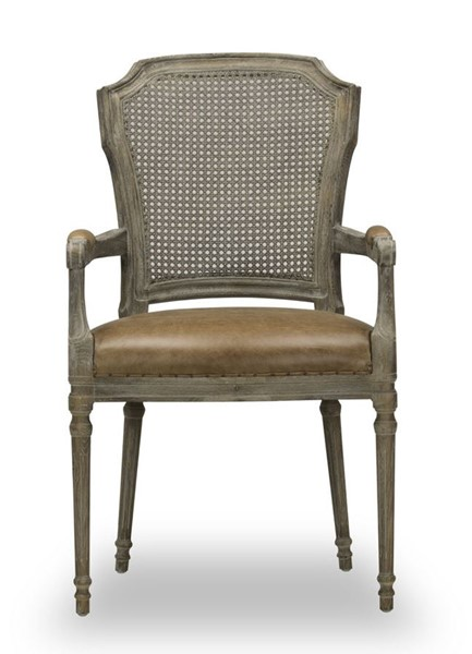 Spectra Home Chelsea Chaps Saddle Arm Chair SPH-Chelsea-Arm-Chair-CS