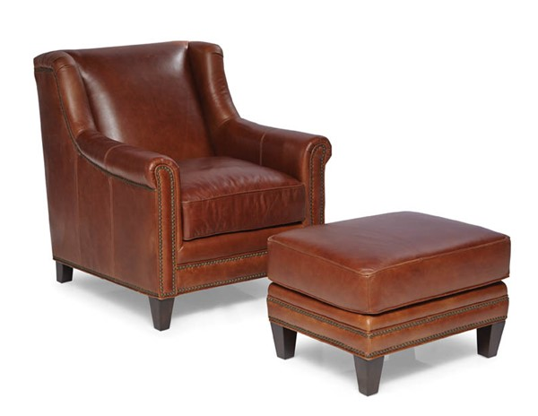 Spectra Home Pendleton Trends Coffee Chair and Ottoman Set SPH-Pendleton-Chair-Ottoman-TC