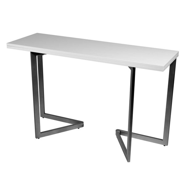Space Master White Expanding Desk and Dining Table SPM-CO-2238