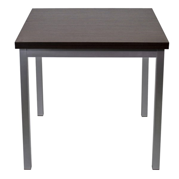 Space Master Walnut Rectangle Easy Slide Dining Table SPM-SM-CO-2253