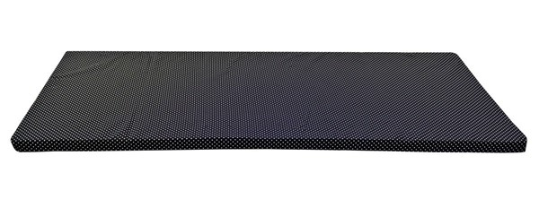 Space Master Black White iBED 2 Inch Guest Bed Mattress SPM-FPB956-M