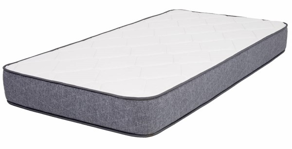 Space Master White Grey Full 10 Inch Gel Memory Foam Mattress SPM-SMG-10-F