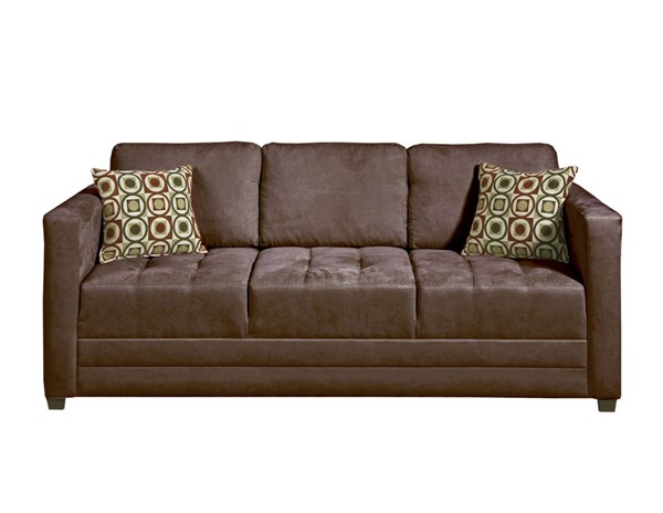 Serta 1085 Series Sienna Chocolate Sofa SRT-1085S04