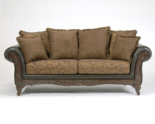 Serta 7685 Series San Marino Chocolate Sofa SRT-7685FRS06