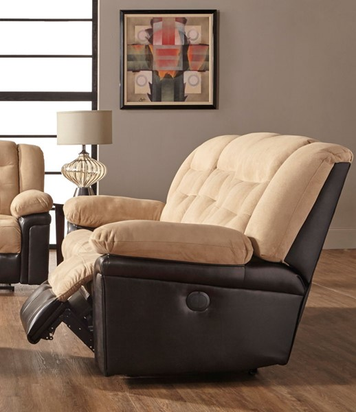 Serta 8975 Series San Marino Chocolate Power Double Reclining Sofa SRT-8975DRS01